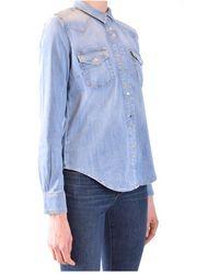 Pinko Shirt Azul