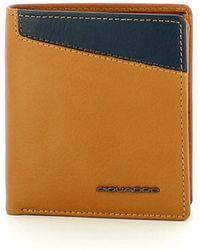 Piquadro Porta Carte Di Credito Rfid - Oranje