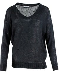 Tom Ford Sweaters - Zwart