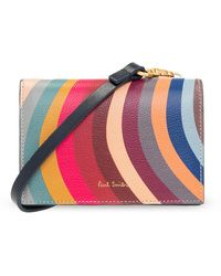 Paul Smith Wallet On Strap - Rood