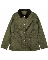 Barbour Giacca Annandale Quilt Husky - Groen