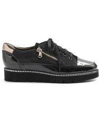 Alfredo Giantin Flat Shoes - Zwart
