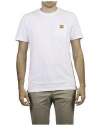 Dondup T-Shirt Logo - Blanc