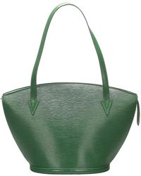 Louis Vuitton Epi Saint Jacques PM cinturino corto in pelle - Verde