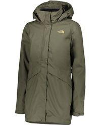 The North Face W Arashi Ii Triclimate Jacket - Groen