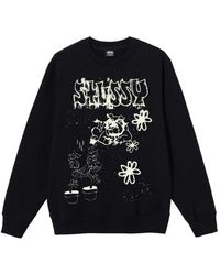 Stussy Bad Dream Crew Neck Sweatshirt - Zwart