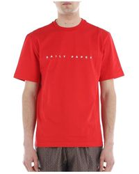 Daily Paper T-Shirt - Rosso
