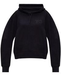 Y-3 Logo hoodie - Nero