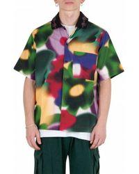 Brain Dead Floral Shirt - Vert