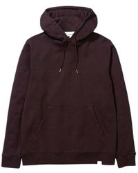 Norse Projects Vagn Classic Hoodie - Rood