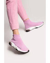 Balenciaga Speed LT Clear sneakers Rosa