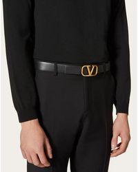 Valentino Cinturón de Garavani Negro