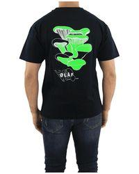 OLAF HUSSEIN Fungi T-shirt - Noir