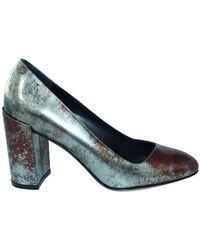Ferragamo Block Heels - Grigio