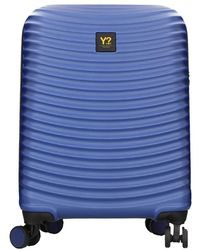 Y Not? Wav-18001f1 Small Carry On - Blauw