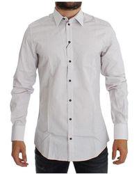 Loewe Vintage Slim Fit Dress Shirt - Weiß