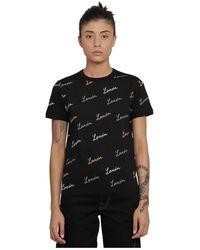 Lanvin T-shirt - Zwart