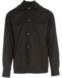 Z Zegna Techmerino shirt - Negro