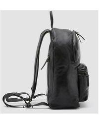 Officine Creative Zip-compartment backpack Negro