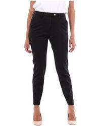 Michael Coal Janis3347 Classic trousers - Noir