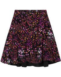 Alix The Label Ditsy Flower Skirt - Meerkleurig