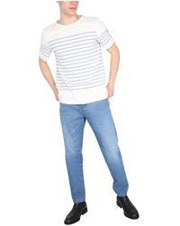 Saint James Audierne T-Shirt Blanco