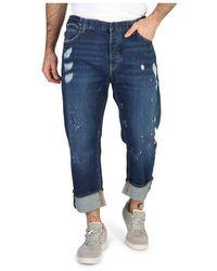 Emporio Armani Jeans dal taglio dritto - Blu