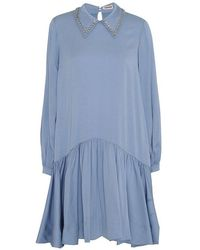 Custommade• Coco Dress - Blauw