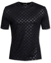 MISBHV T-shirt with logo - Noir