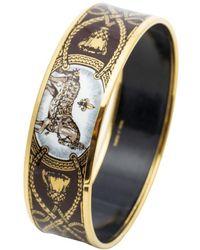 Hermès Emaille Armband - Meerkleurig