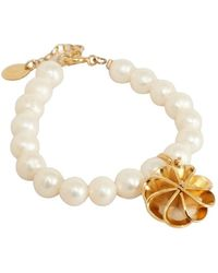 Medecine Douce Vérone Bracelet With Cultured Pearls And Charms