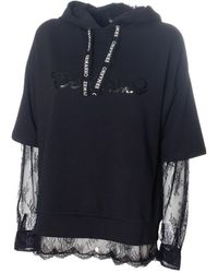 Ermanno Scervino Sweatshirt - Noir