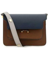 Marni Mini trunk shoulder bag - Marrón