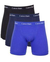 Calvin Klein Boxershorts - Blauw