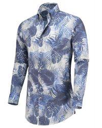 Circle Of Gentlemen Shirt - Blauw