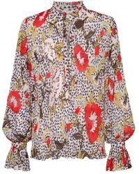 Diane von Furstenberg Shirt - Marrone
