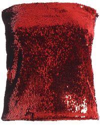 Alexandre Vauthier Sequined Mini Skirt - Rood