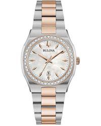 Bulova Surveyor watch - Weiß