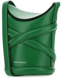 Alexander McQueen Bucket BAG Verde