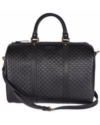 Gucci Boston Microssima Bag - Zwart