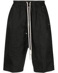 Rick Owens - Bela Pods Bermuda Jersey Shorts - Lyst