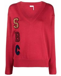 See By Chloé Sweater - Rojo