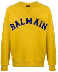 Balmain Sweater - Geel