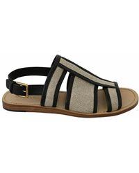 Dolce & Gabbana Sandals Shoes - Zwart