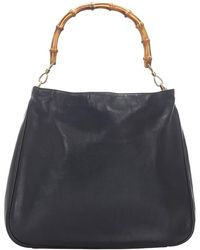The North Face Bamboo Leather Satchel - Nero