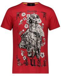 Cesare Paciotti T-shirt - Rojo