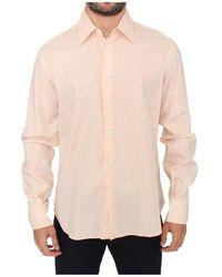Ermanno Scervino Striped Casual Shirt - Oranje