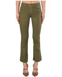 Dondup Jeans A Model Trobetta Amanda - Groen