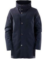 Rrd Coat W20020 60 - Blauw