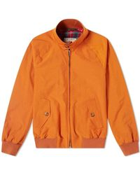 Baracuta G9 Harrington Jacket - Oranje